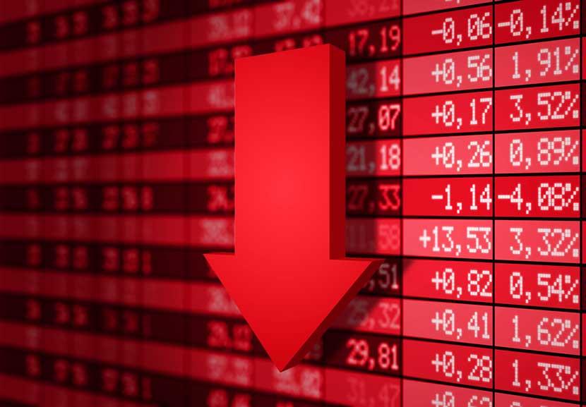 Was bitcoin ook verantwoordelijk voor beursdaling?